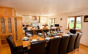 Wayside: The large kitchen/dining room is perfect for big family celebrations