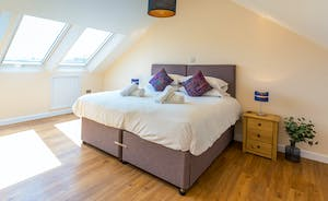Shires - Bedroom 6 is the biggest bedroom and has room for 2 extra single beds (small charge)