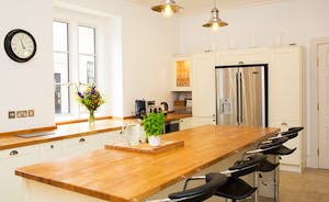 The Old Rectory - A very sociable kitchen allows for chit-chat whilst you cook