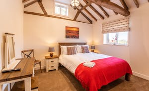 The Cowshed - Master bedroom