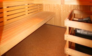 The Cottage Beyond: Feel invigorated after a spell in the sauna