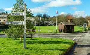 Pitsworthy: Just a mile or so down the road is the sleepy Exmoor village of Exford