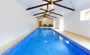 Pound Farm - This large group holiday house has its own private pool
