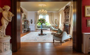 Severn Manor - The beautiful Oak Room; elegant period style