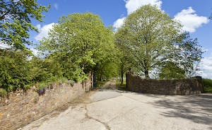 Holemoor Stables: Turn off the lane onto a private drive - and on to Holemoor Stables