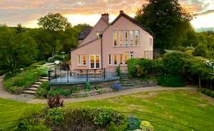 The Cottage Beyond: Taken at dusk...