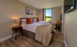 Croftview - Bedroom 4 (Hedgehog): On the first floor with an en suite shower room