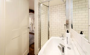 Hesdin Hall - The en suite shower room for Bedroom 6
