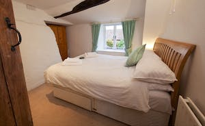 Halse Water House - Bedroom 4 enjoys an aspect onto the private south facing courtyard.