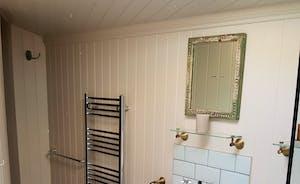 Shepherd's Hut Bathroom