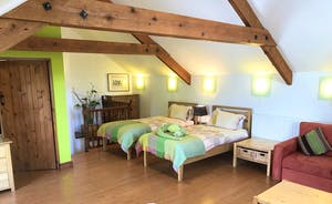 The Annex Upstairs Bedroom 2