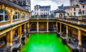 Bath and Bristol are close enough for a day trip with lots to explore
