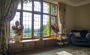 Bossington Hall  - Glorious views from the TV Room