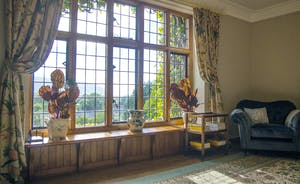 Bossington Hall  - Glorious views from the rooms at the front of the house