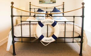 Bedroom 3 - Double bed with a maritime theme