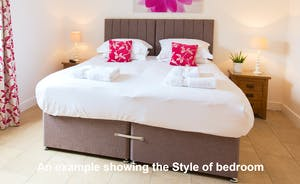 Croftview - All 13 en suite bedrooms will have zip and link beds so you get to choose if you want superkings or twins