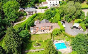 Riversdale Lodge Aerial View