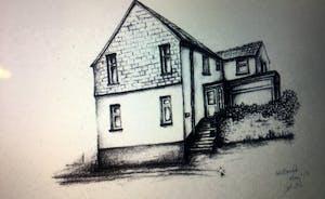 Hillscroft drawn by a guest