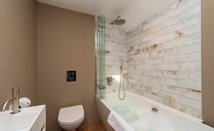 Whimbrels Barton - Bean Goose Barn: Bedroom 2 has an en suite bathroom