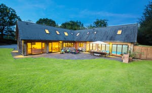 Flossy Brook - Set in a one acre plot, in an idyllic location amidst the beautiful Somerset countryside