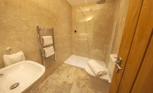 Beaverbrook 30 - Bedroom 3 en suite shower room; the walk in showers are of generous proportions