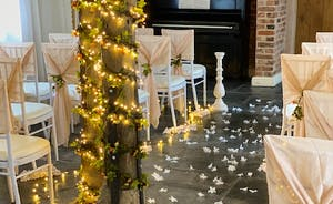 Wedding room for up to 50 guests