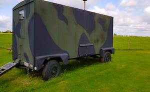 Cammo trailer