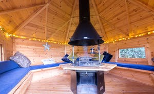 Ilbeare - The Nordic style BBQ Lodge is just magical all year round!