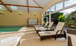 Herons Bank - Pull back the doors, let the sunshine in, lounge by the pool