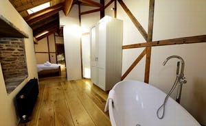 Bedroom 3 with its own bath and en suite shower