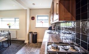 Large kitchen at 21 Greyfriars