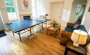 Sandfield House - The spacious hallway has ping-pong - and room for spectators