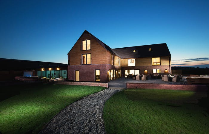 Large luxury group accommodation sleeping up to 24 with indoor pool, hot tub, games room and bbq lodge