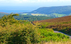 Bossington Hall - The panoramic views of Exmoor will leave you lost for words!