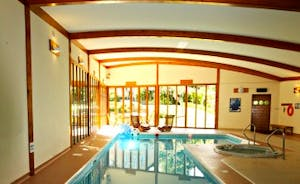 A generous 13.5m pool with a deep end of 2m will allow you to really enjoy your swimming.