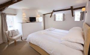 Berry House - Bedroom 6 is a first floor room with en suite shower room