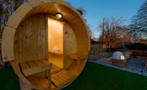 Hesdin Hall - Feel the tension slip away in the sauna