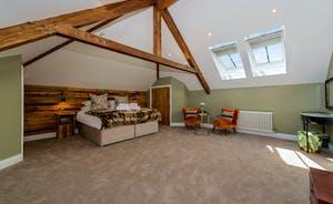 Croftview - Bedroom 13 (Stag): A second floor room with an en suite bathroom
