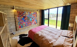 Cow shed bedroom