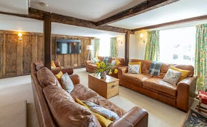 Frog Street: The sitting room is so restful, and so spacious