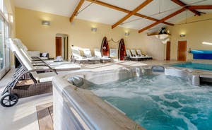 Herons Bank - The spa hall has a pool and hot tub
