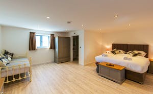 The Granary - Bedroom 6 is a first floor room; spacious, light and airy