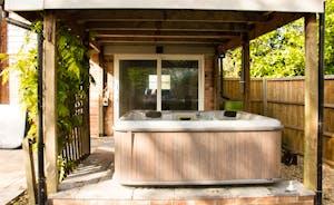 The tub!