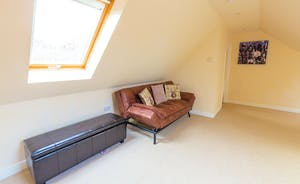 Crowcombe - Mezzanine which has the option of a sofa bed with an extra charge per person