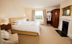 Berry House - Bedroom 2 is a spacious first floor room which shares a large family bathroom