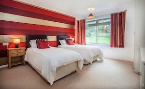 Bedroom 2 - Twin beds or zip linked superking bed