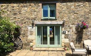 Garden doors at Moo Barn