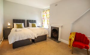 Sandfield House - Bedroom 4 has zip and link beds, so superking or twin - it's up to you
