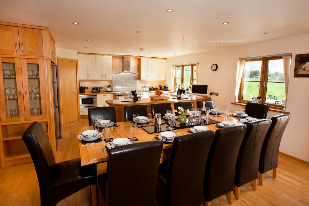 Blackborough house interior