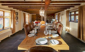 Bumblebee: A lovely long room for dining and relaxing